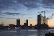 Hamburger Hafen mit Elbphilharmonie, Deutschland