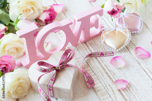 Valentine\'s day concept