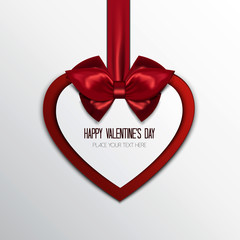 Valentine's greeting card-background