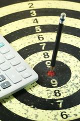 Target on a Dart