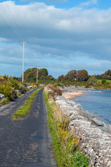 A view of the causeway from Inchiquin Island, Co. Galway.