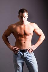 muscular man
