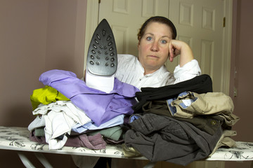 Piles of Ironing