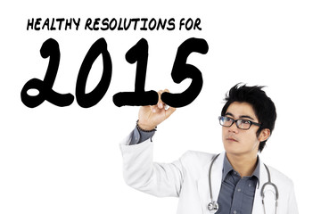 Asian doctor writes health resolution for 2015