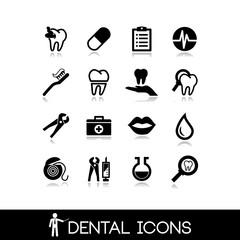 Dental icons - Set icons 1