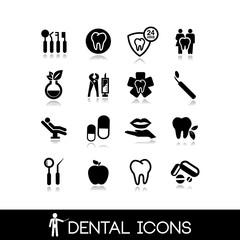 Dental icons - Set icons 4