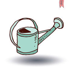 watering can, vector illustration.