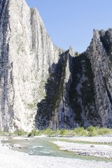 La Huasteca landscape - river view