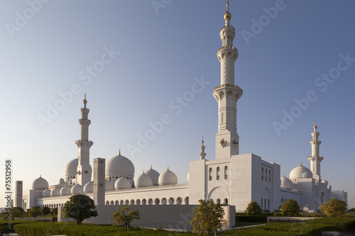 Fotobehang Dubai Мечеть шейха Зайда. Абу-Даби. ОАЭ.