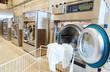Leinwanddruck Bild - laundry services