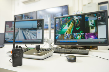 Security video surveillance equipment