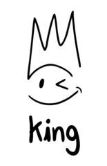 King face symbol