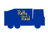 Truck rally raid poster