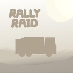 Truck rally raid