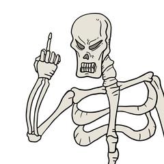 Skull threat