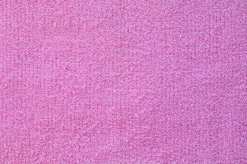 surface of purple towel