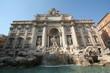 Leinwanddruck Bild - トレビの泉 トレヴィの泉 Trevi Fountain  Fontana di Trevi