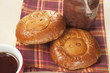 """""""Pig"""" pies with apple jam"""