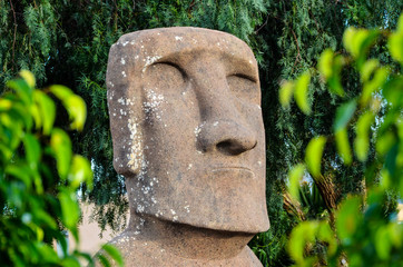 Moai standing from Easter Island