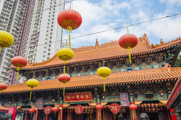 Sik Sik Yuen Wong Tai Sin Temple in Hong Kong, China