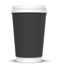 Coffee Cup with Black Label