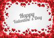 Obrazy na płótnie, fototapety, zdjęcia, fotoobrazy drukowane : happy valentine's day background