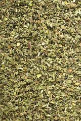 Cistus incanus - dried herb background