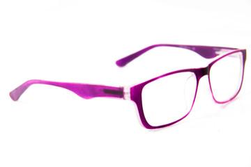 eyeglasses isolated on the white background.