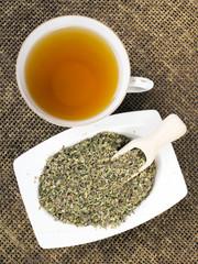 Cistus incanus tea and dried herb