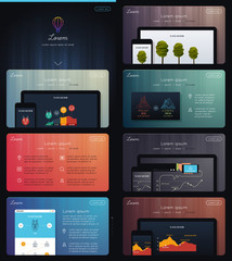 Landing Page for Web Marketing