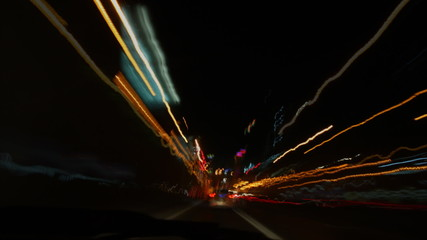 Driving abstract with motion
