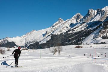 Ski de fond aux Confins