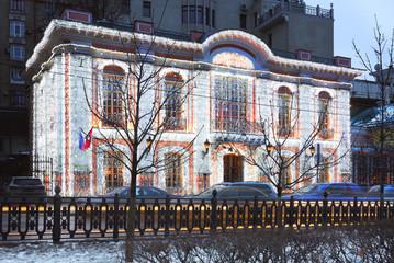 Москва новогодняя.