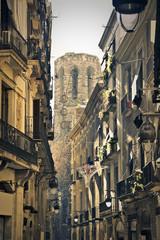 A street in Barcelona
