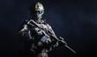 Leinwanddruck Bild - Special forces soldier
