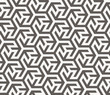 Vector seamless pattern. Geometric texture. - 75529136