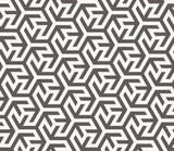 Fototapety Vector seamless pattern. Geometric texture.