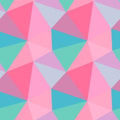 Seamless polygon triangle  pattern