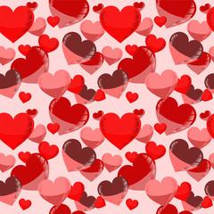 abstarct heart seamless. vector