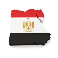 3d Egypt Map