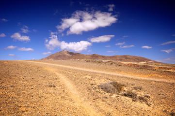Landscape in los Ajaches, Punta Papagayo.Canary islands, Lanzaro