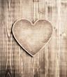 Obrazy na płótnie, fototapety, zdjęcia, fotoobrazy drukowane : Wooden heart