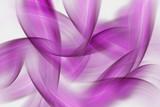fioletowe fale na szarym tle