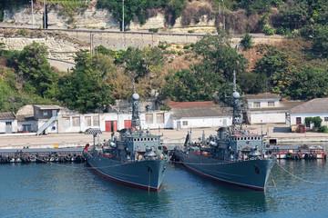Naval ships, Sevastopol, republic Crimea