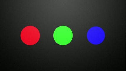 additive color mixing in RGB color space