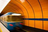 Underground in Munich, Germany