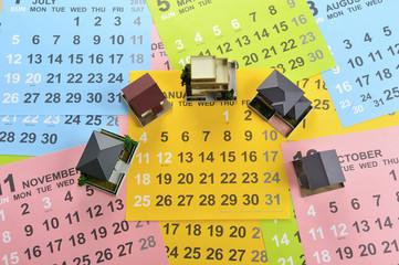 住宅設計とカレンダー