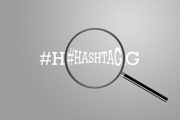 Hashtag - Magnify - Alu Series
