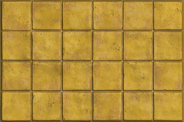 Grunge tiled wall