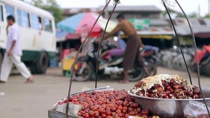 street food near the road